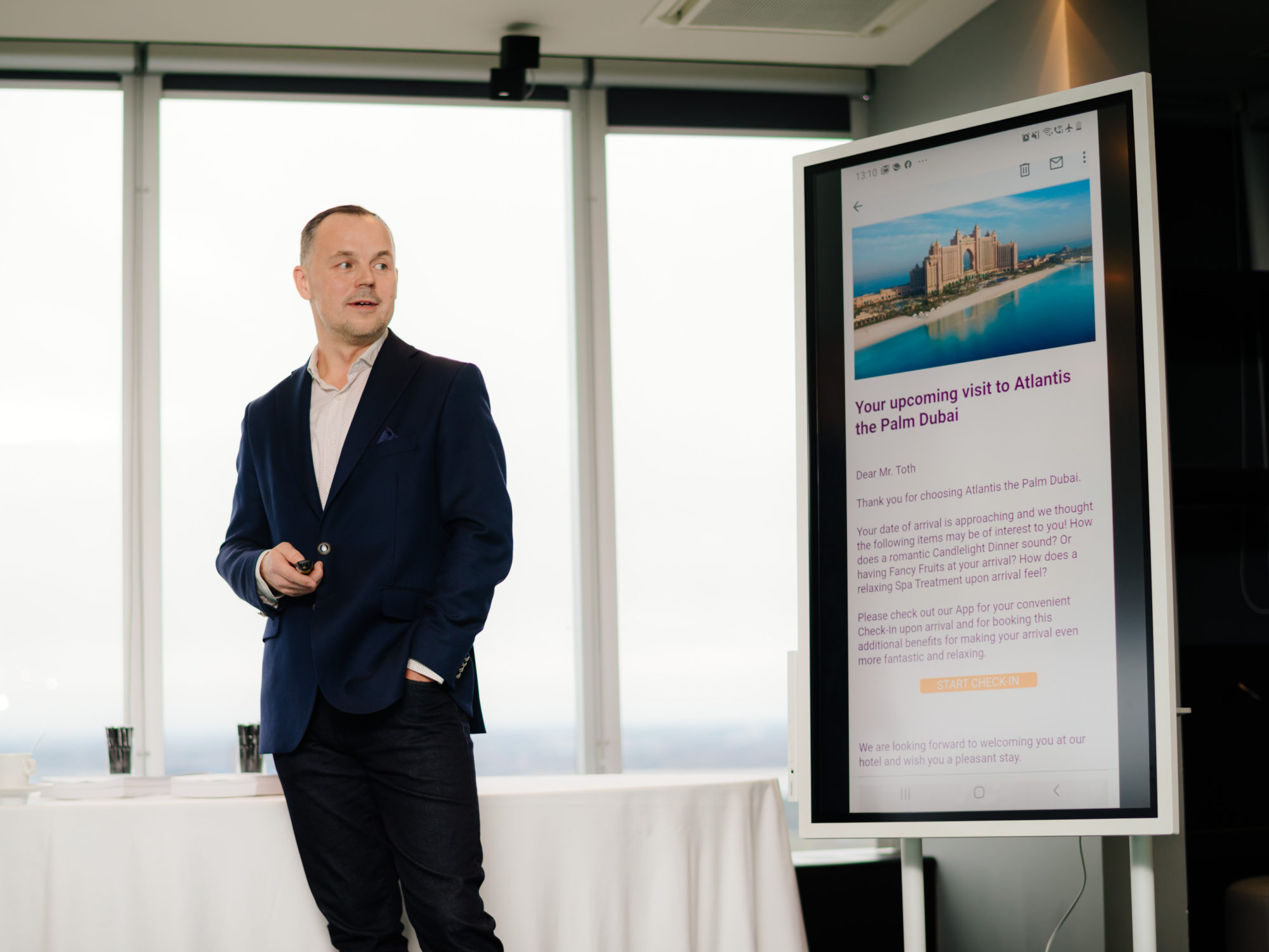 The launch of at-visions Nordic, introducing top technologies for the region's hospitality sector